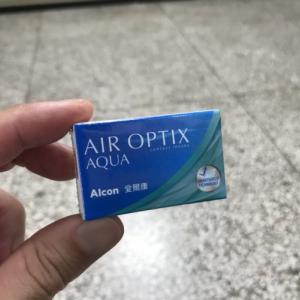 台湾で初めてコンタクトを買う!「台湾留学690日目」