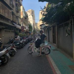 さて、台東に向けてバイク旅、始まりです!「台東バイク旅行1日目前半・台湾留学723日目くらい」