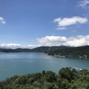 台湾の綺麗な湖、日月潭でお茶を飲む?台湾の田舎をバイクで巡る旅13「台湾留学352日目」