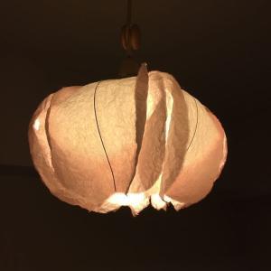 和室にあう和紙の照明