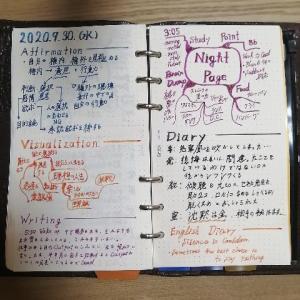 【日記】2020年9月30日+アウトプットに対する私見