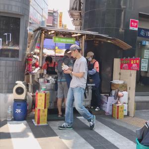★7月 韓国旅行★ 私はここのホットクが一番好き♪