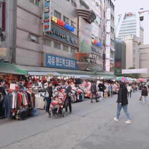 ★10月 韓国旅行★ 南大門市場は掘り出し物があっておもしろい♪