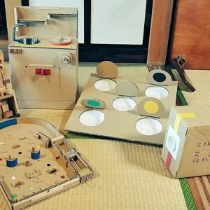 本日、11(土)三ツ川食堂、工作教室