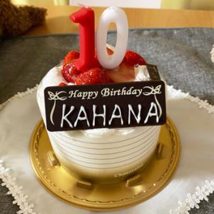 カハナ10歳の記念日!