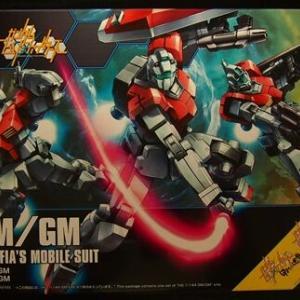 """プラモ購入(2020年-9 BANDAI 1/144 HG BUILD FIGHTERS """" GM/GM【GUNPLA MAFIA'S MOBILE SUIT】 """")"""