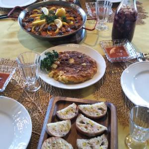 スペイン料理の会