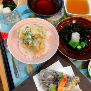 ABC1dayレッスンは、天ぷらでした