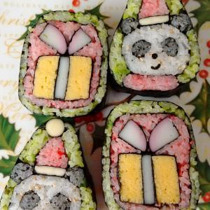 半年ぶりの飾り巻き寿司