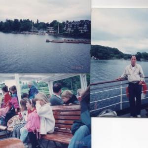 「英国物語」湖水地方5 ウィンダミア湖遊覧