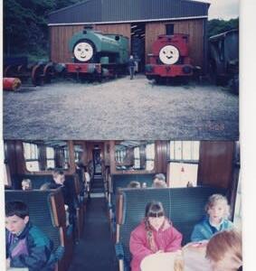 「英国物語」湖水地方6 蒸気機関車遊覧