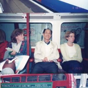 「英国物語」ロンドン1 地下鉄と2階建バス