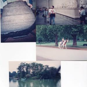「英国物語」ロンドン3 大英博物館とハイドパーク