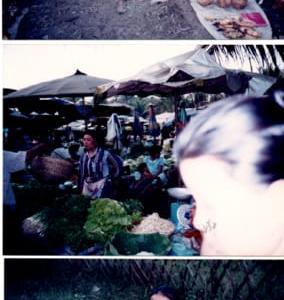 「ラオス」編 焼きバナナ売りの少女