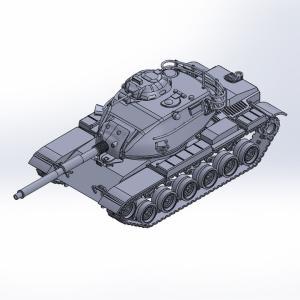 1/144 M60A3パットン 原型製作記