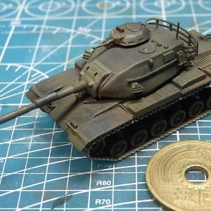 1/144 M60A3パットン、サンプル組立