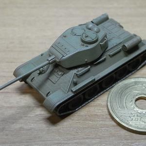 1/144 T-34-85ちょっとだけ手直し