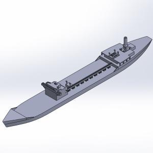 1/2000 戦時標準船2TL型 原型製作記(その2)