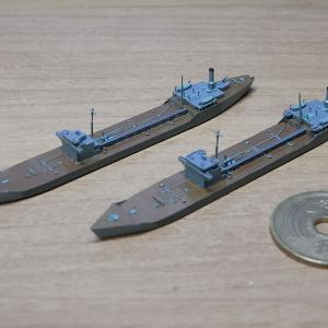 1/2000 戦時標準船2TL型、サンプル組立