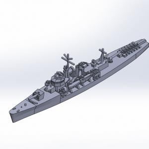 1/2000 丁型海防艦 原型製作記(その3)