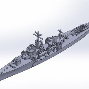 1/2000 丙型海防艦 原型製作記