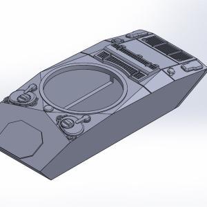 1/144 M24軽戦車チャーフィー原型製作記(その1)