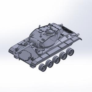 1/144 M24軽戦車チャーフィー原型製作記(その6)