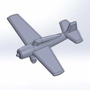 1/2000 米海軍艦載機セット 原型製作記(その1)
