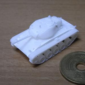 1/144 M24軽戦車チャーフィー 出力品到着