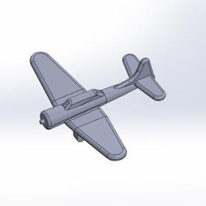 1/2000 米海軍艦載機セット 原型製作記(その2)