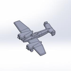 1/2000 米海軍艦載機セット 原型製作記(その3)