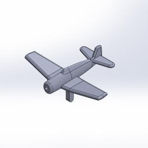 1/2000 米海軍艦載機セット 原型製作記(その4)