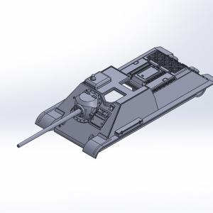1/144 SU-85自走砲 原型製作記(その2)