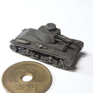 1/144 35(t)軽戦車(夕凪原型製作記263)
