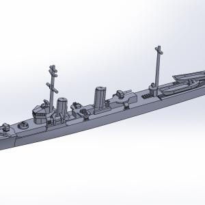 1/2000 第一号型哨戒艇 原型製作記