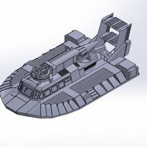 1/144 ベル SK-5原型製作記(その5)