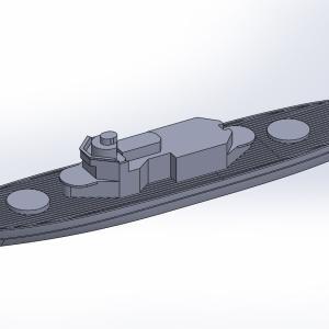 1/2000 イルマリネン級海防戦艦 原型製作記(その2)