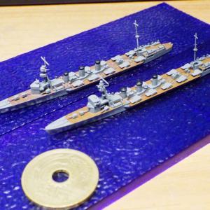 1/2000 重雷装艦 木曽(IF仕様)サンプル組み立て