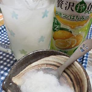 レモンサワー+大根おろし。