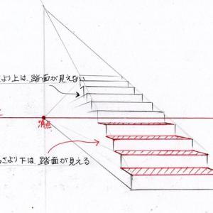 階段の描き方