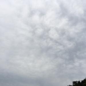 お顔が沢山ある雲 すごい
