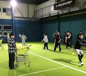 次回テニス・インドアレッスンは2月16日(日)となります♪