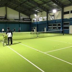 2月21日(日)インドアテニスのご案内♪