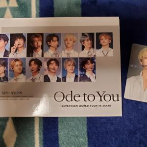 SEVENTEEN  WORLD TOUR IN JAPAN Ode to You
