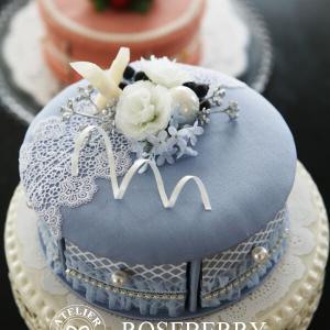 ケーキのカルトナージュ