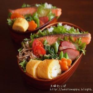 12月4日 焼き鮭弁当