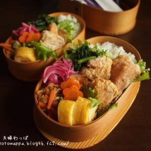 9月14日 鮭の唐揚げ弁当