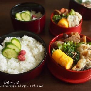 9月17日 そのまま白身魚の竜田揚げ弁当