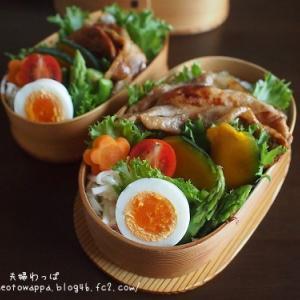 10月29日 豚の生姜焼き弁当