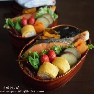 5月10日 海苔鮭弁当